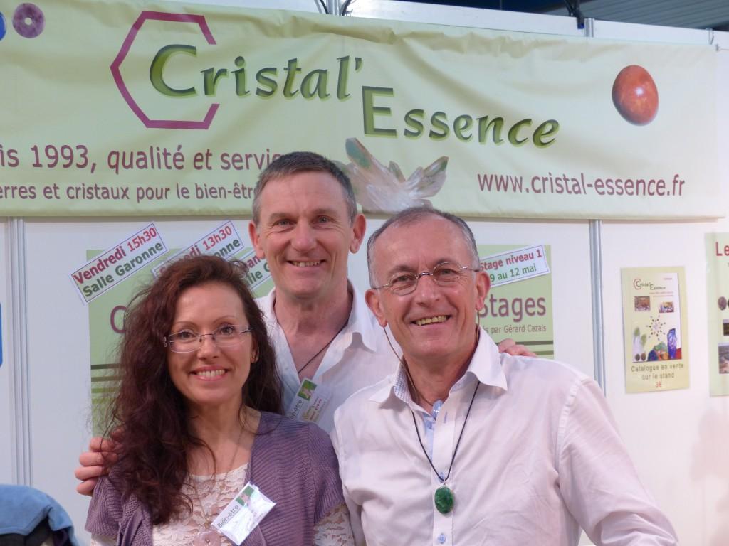 L'équipe de Cristal'Essence