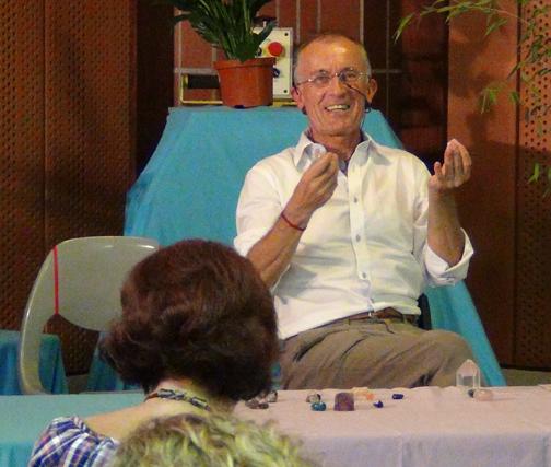 Gérard en conférence