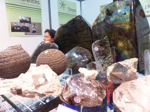 Pyrite, Quartz Jacaré et Labradorite