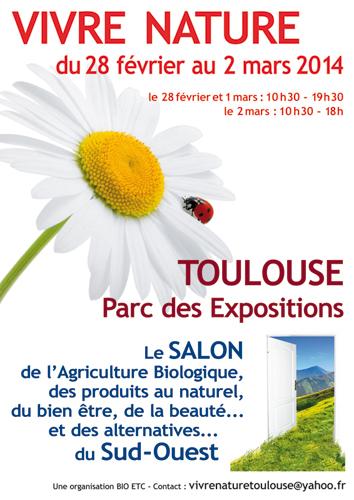 Affiche salon Vrvre Nature