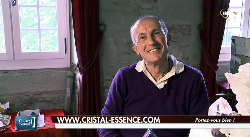 Interview de Gérard CAZALS sur les stages de Cristal'Essence