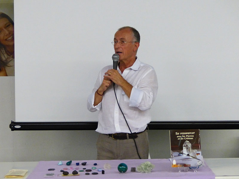 Gérard Cazals en conférence