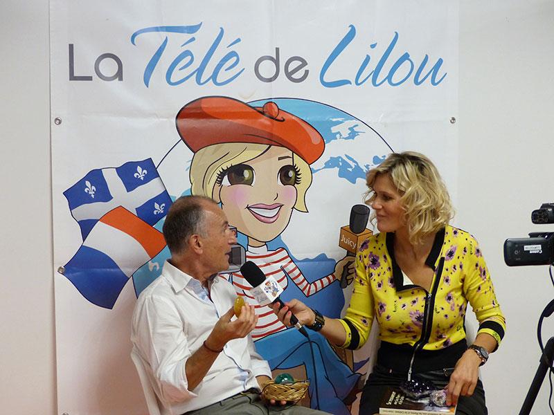 L'interview sera diffusé sur la télé de (FR) Lilou Macé