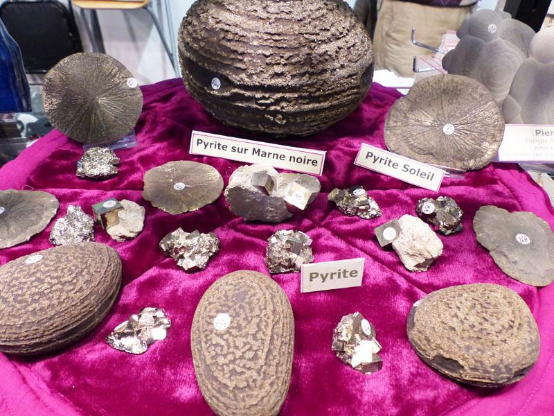 La Pyrite sous différentes formes
