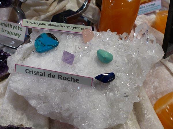 Druse en Cristal de roche