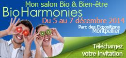 Salon Bioharmonies à Montpellier
