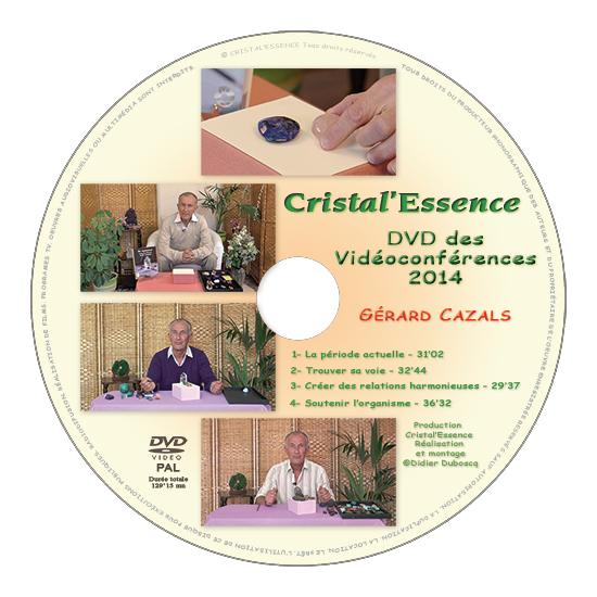 DVD des vidéoconférences 2014