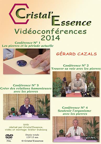 DVD DES VIDEOCONFERENCES 2014