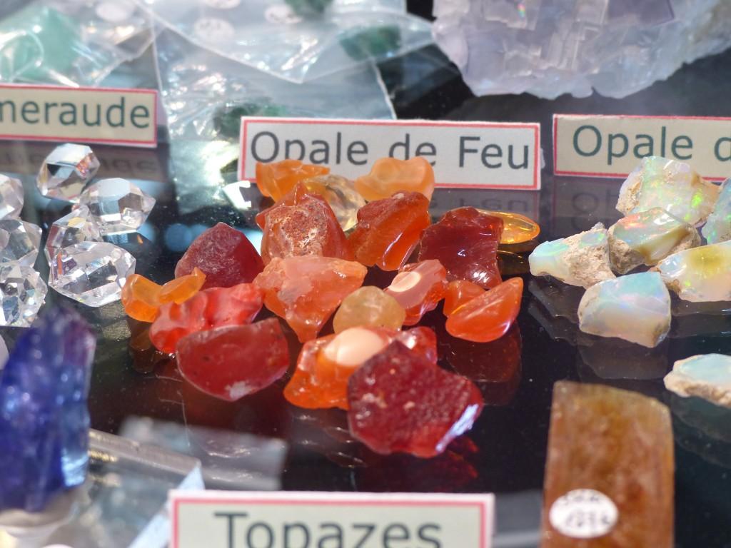 Les Opales de feu