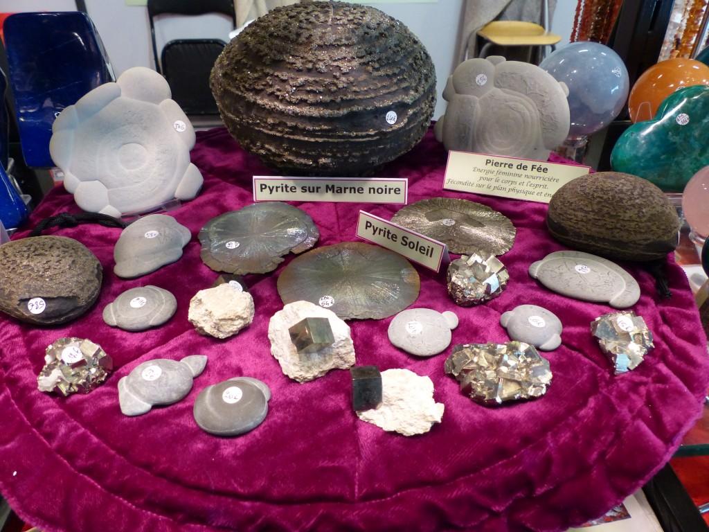 Les pyrites et pierres de fée