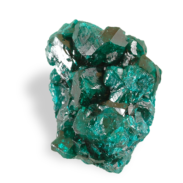 Dioptase cristal
