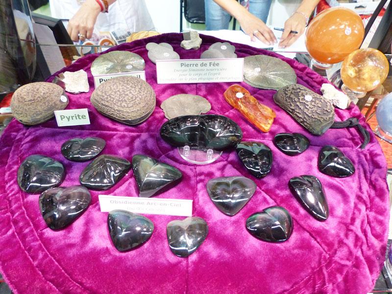 Obsidiennes et Pyrites