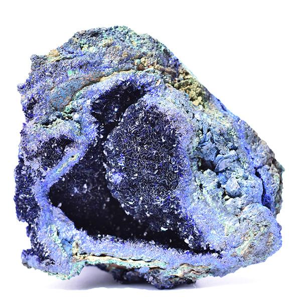 Azurite cristallisée
