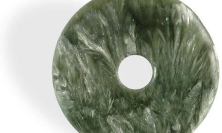 Séraphinite donut, la pierre de lâcher prise par excellence