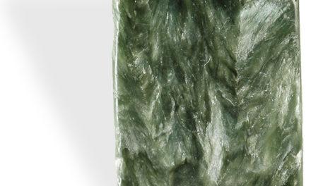 La Séraphinite, pierre de libération et de lâcher-prise.
