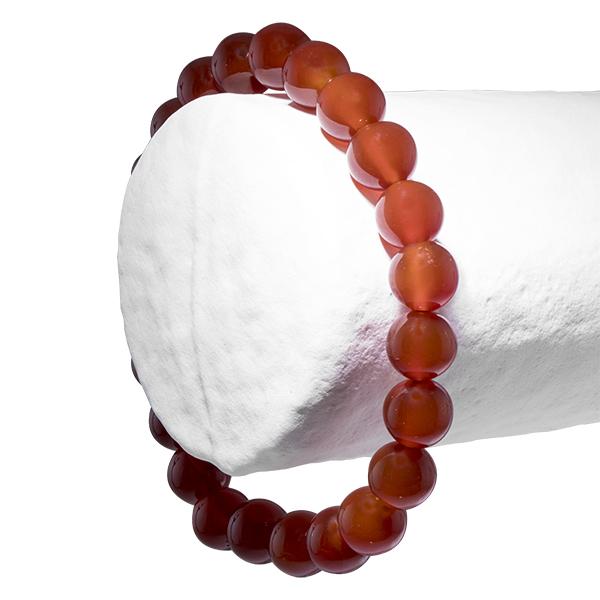 La Cornaline en bracelet